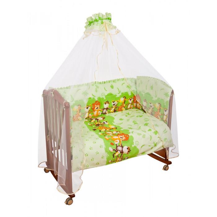 Бортик для кроватки Сонный гномик АфрикаАфрикаБампер в кроватку Африка состоит из четырех частей и закрывает весь периметр кроватки.  Бортик (раздельный на 4 стороны, высота 50см, синтепон, 120х60см)  Состав ткани: нежная бязь из самой тонкой нити, 100% хлопок безупречной выделки   Бортик крепится к кроватке с помощью специальных завязок, благодаря чему его можно поместить в любую детскую кроватку.   Бампер выполнен из бязи - натурального хлопка безупречной выделки. Деликатные швы рассчитаны на прикосновение к нежной коже ребенка.   Бампер оформлен оборками и авторским рисунком с изображениями веселых танцующих зверей. Наполнителем служит холлкон - эластичный синтетический материал, экологически безопасный и гипоаллергенный, обладающий высокими теплозащитными свойствами.  Бампер защитит ребенка от возможных ударов о деревянные или металлические части кроватки. Бортик подходит для кроватки размером 120 см х 60 см. Размеры 360 х 3 х 40 см Размер упаковки 60 x 50 x 12<br>