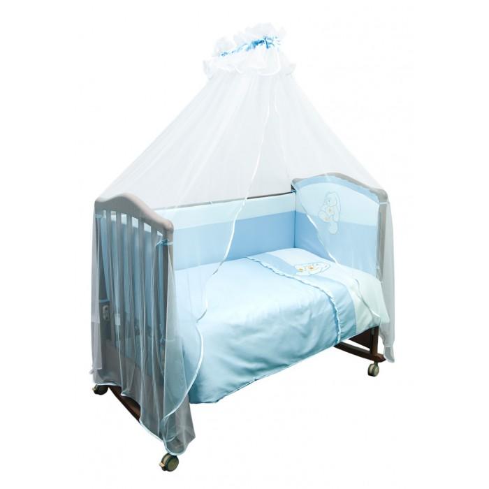 Купить Комплекты в кроватку, Комплект в кроватку Сонный гномик Пушистик (7 предметов)