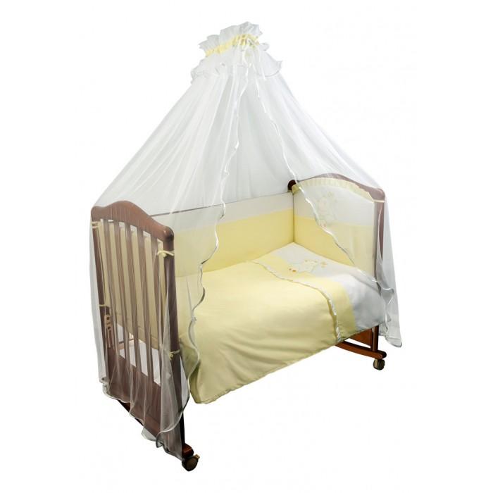 Комплект в кроватку Сонный гномик Пушистик (7 предметов)