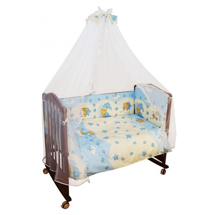 Бортики в кроватку Сонный гномик Мишкин сон бортики в кроватку сонный гномик считалочка
