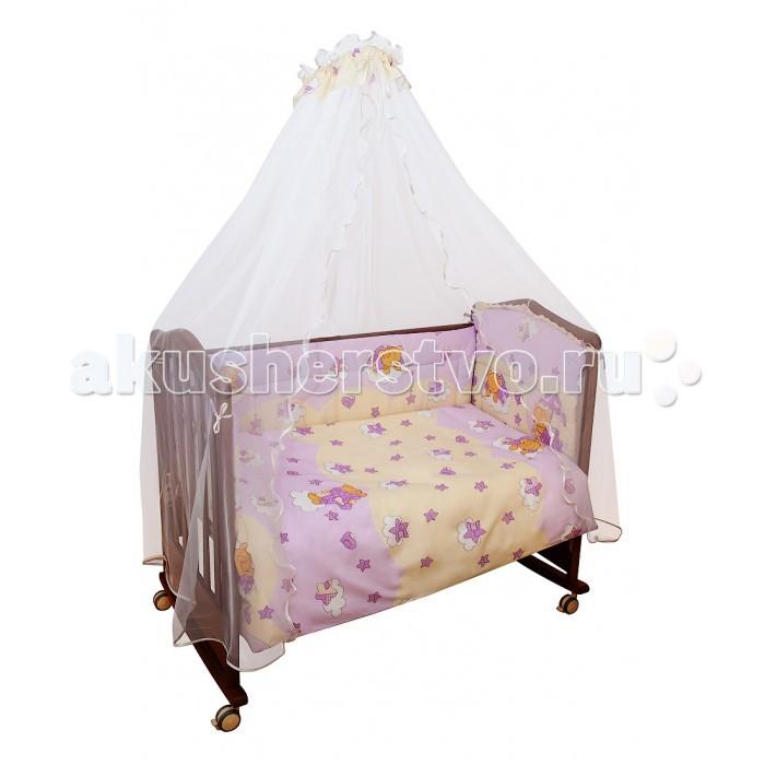 Бортики в кроватку Сонный гномик Мишкин сон борт в кроватку сонный гномик считалочка бежевый бсс 0358105 4