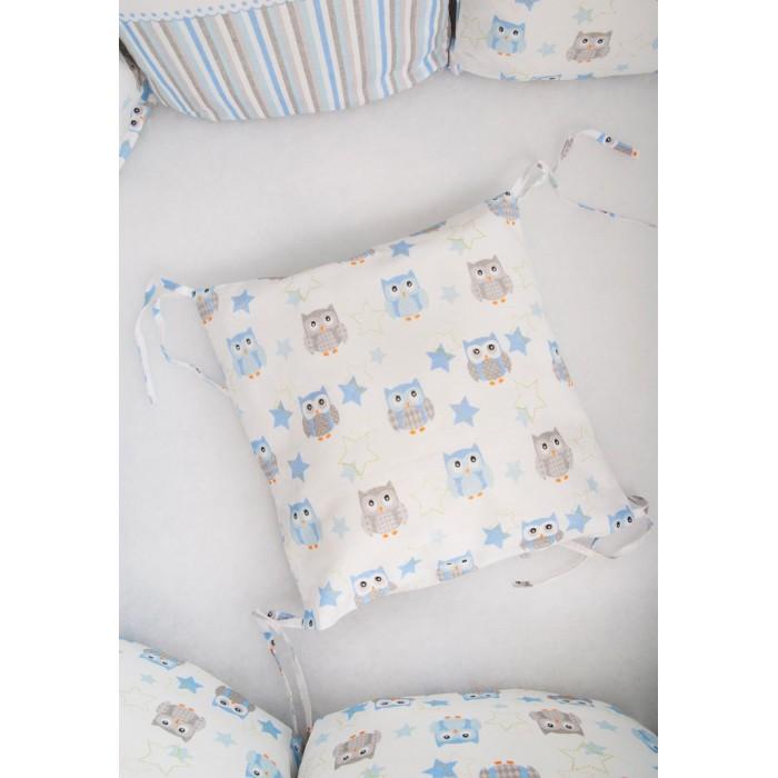 Фото - Бортики в кроватку Сонный гномик Софушки 171-12/1 бортики в кроватку сонный гномик серебряная нить