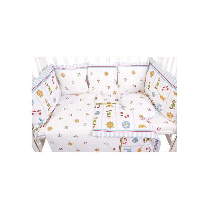 Бортики в кроватку Сонный гномик из подушек Маяк борт в кроватку сонный гномик считалочка бежевый бсс 0358105 4