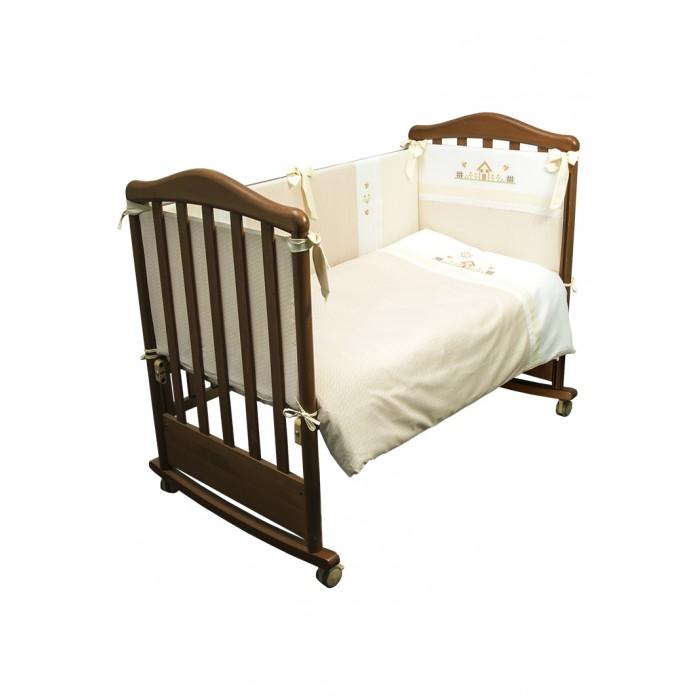 Постельные принадлежности , Комплекты в кроватку Сонный гномик Кантри (6 предметов) арт: 533906 -  Комплекты в кроватку
