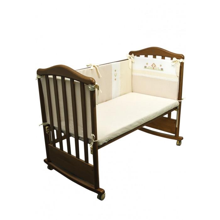 Постельные принадлежности , Бортики в кроватку Сонный гномик Кантри арт: 532161 -  Бортики в кроватку