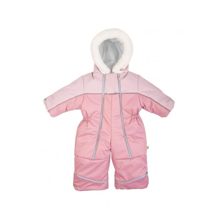 Happy Baby Комбинезон-трансформер с натуральной опушкой