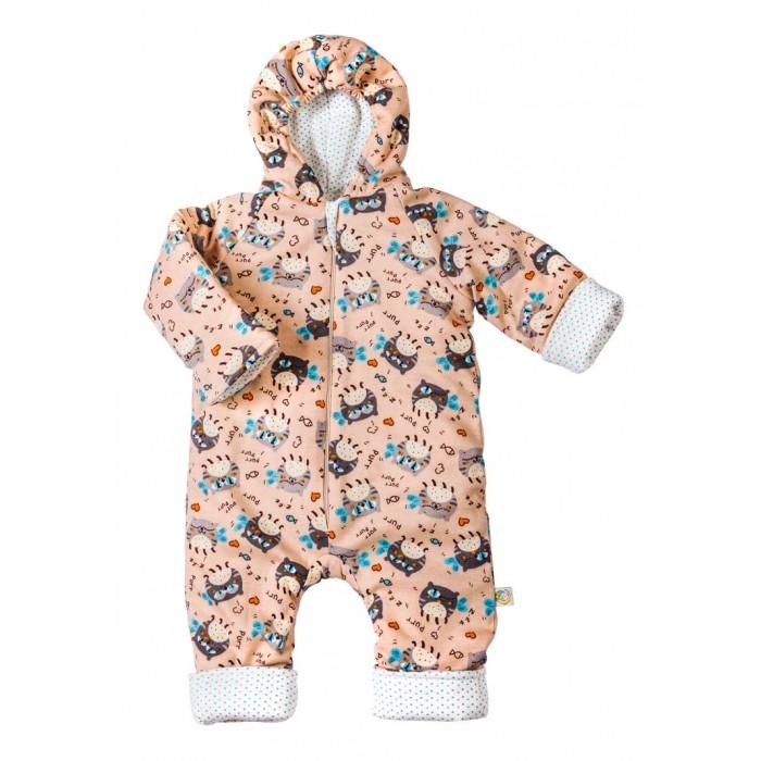 Детская одежда , Комбинезоны и полукомбинезоны Сонный гномик Комбинезон трикотажный Мур-мур арт: 533331 -  Комбинезоны и полукомбинезоны