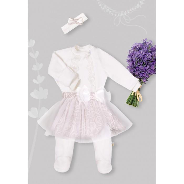 Детская одежда , Комбинезоны и полукомбинезоны Сонный гномик Комбинезон Версаль для девочки арт: 533346 -  Комбинезоны и полукомбинезоны