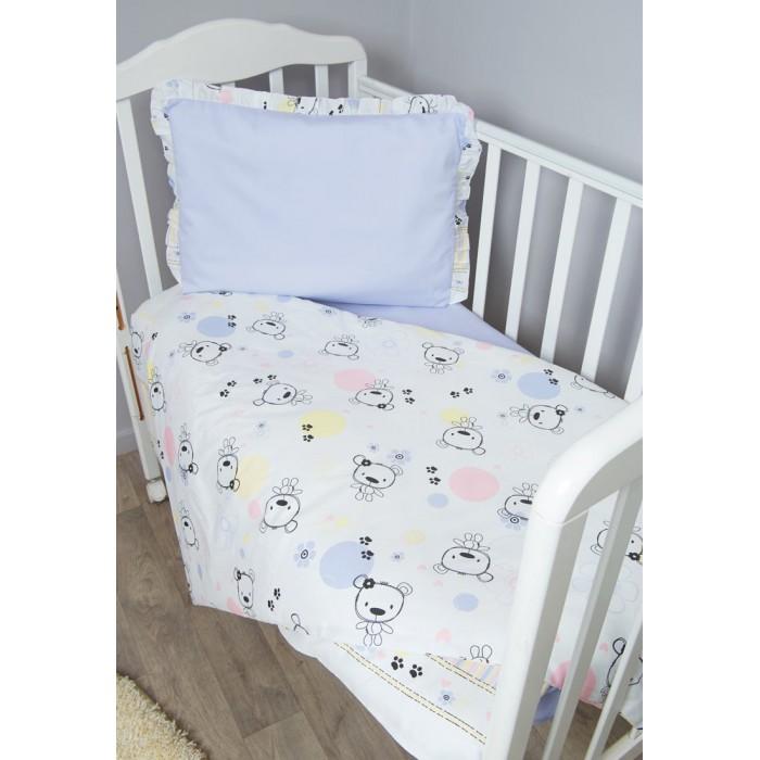 Фото - Постельное белье Сонный гномик Конфетти (3 предмета) комплекты в кроватку сонный гномик конфетти 6 предметов