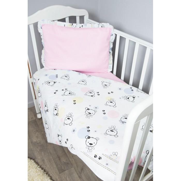 Постельные принадлежности , Комплекты в кроватку Сонный гномик Конфетти (3 предмета) арт: 402849 -  Комплекты в кроватку