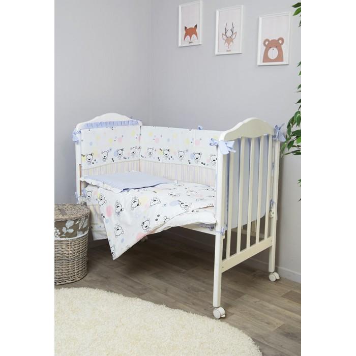 Постельные принадлежности , Комплекты в кроватку Сонный гномик Конфетти (6 предметов) арт: 533901 -  Комплекты в кроватку