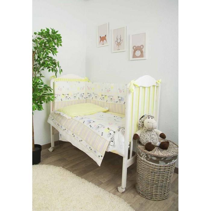 Фото - Комплекты в кроватку Сонный гномик Конфетти (6 предметов) комплекты в кроватку сонный гномик конфетти 6 предметов