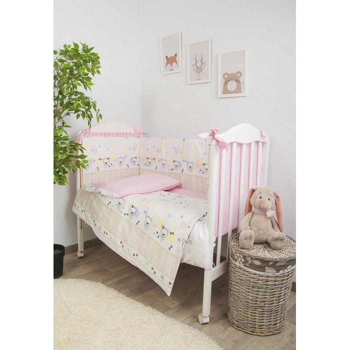 Комплекты в кроватку Сонный гномик Конфетти (7 предметов) балдахин на детскую кроватку купить в пензе