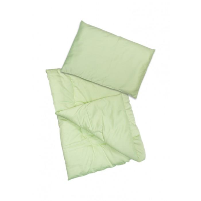 Комплект в кроватку Сонный гномик Одеяло и подушка Алое Вера