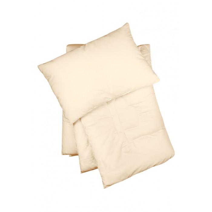 Комплекты в кроватку Сонный гномик Одеяло и подушка Лебяжий пух