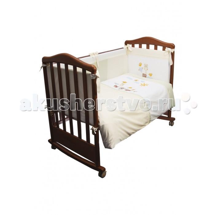 Постельные принадлежности , Комплекты в кроватку Сонный гномик Пикник (6 предметов) арт: 533926 -  Комплекты в кроватку