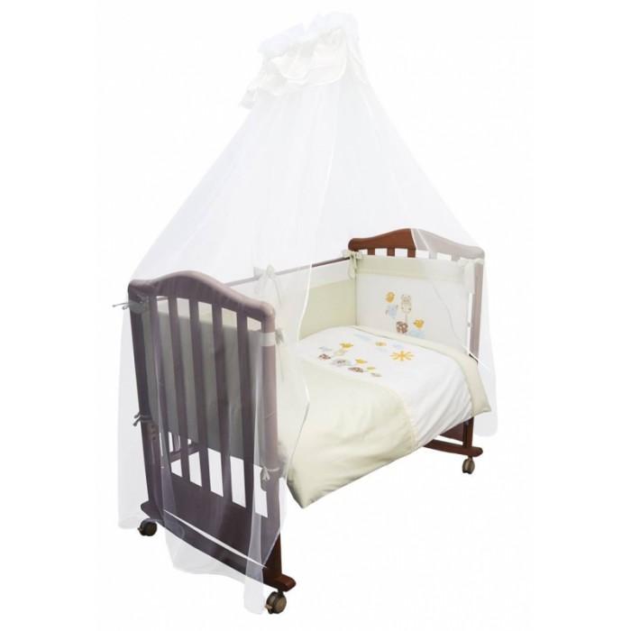 Комплекты в кроватку Сонный гномик Пикник (7 предметов) борт в кроватку сонный гномик считалочка бежевый бсс 0358105 4