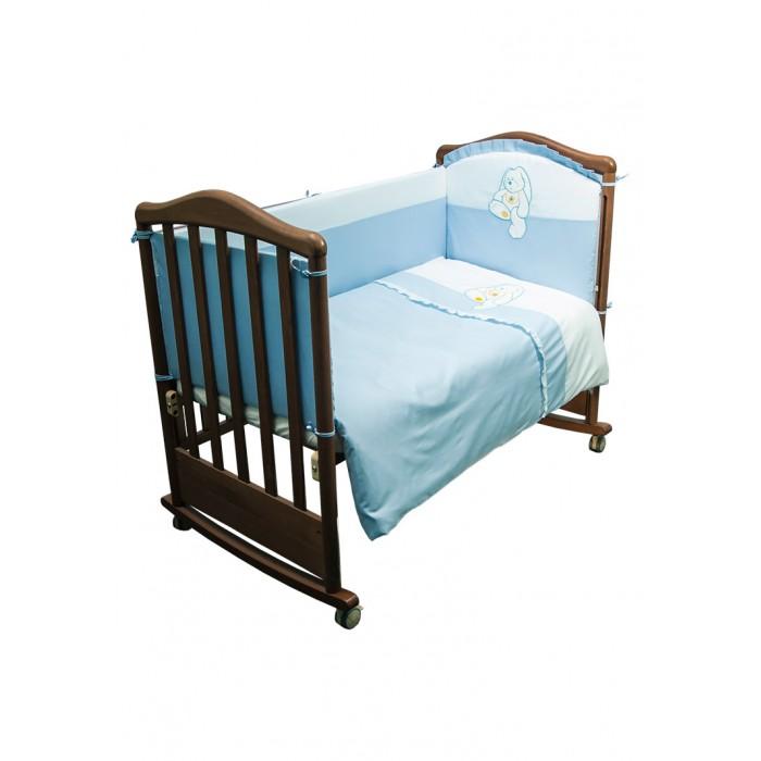 Комплект в кроватку Сонный гномик Пушистик (6 предметов)