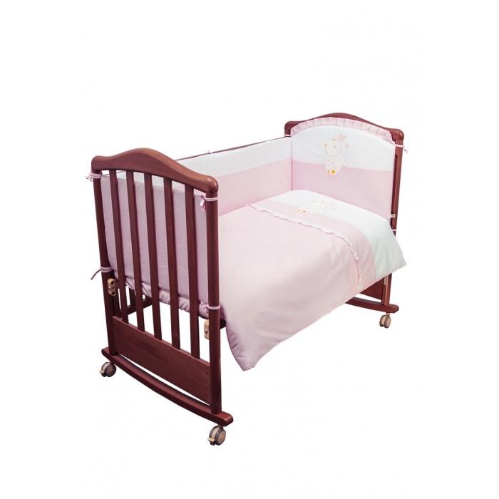 Купить Комплекты в кроватку, Комплект в кроватку Сонный гномик Пушистик (6 предметов)