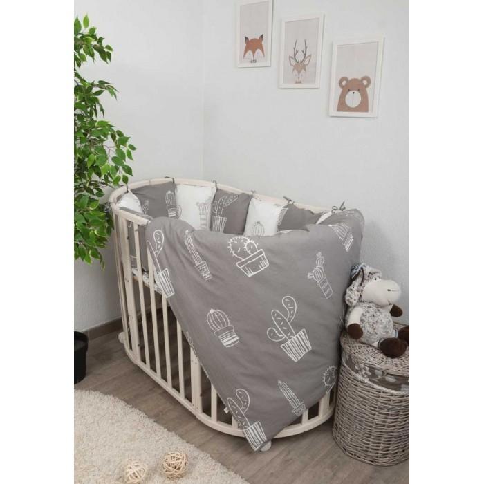 Фото - Комплекты в кроватку Сонный гномик Техас (4 предмета) комплекты в кроватку сонный гномик конфетти 6 предметов
