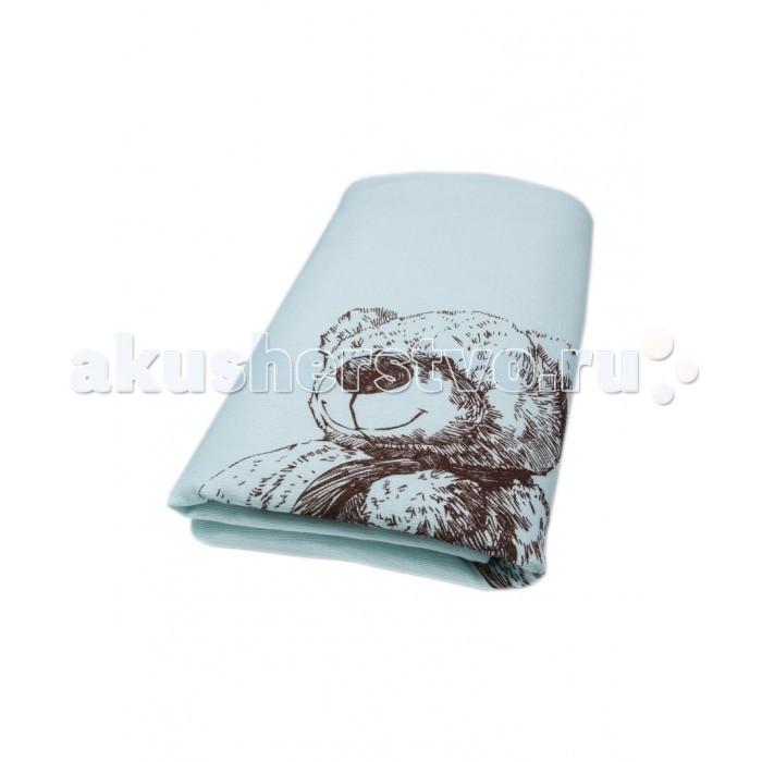 Постельные принадлежности , Пледы Сонный гномик Вязаный Мишка 85х85 см арт: 560326 -  Пледы
