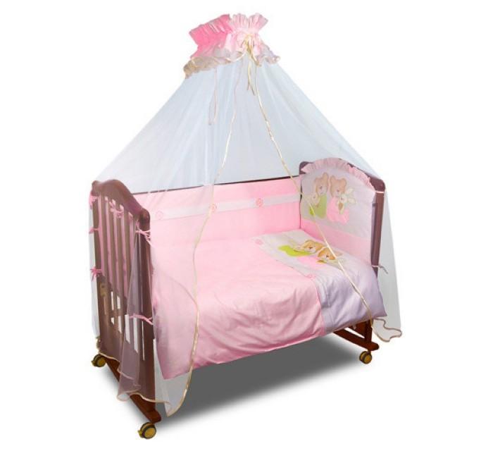 Постельные принадлежности , Бортики в кроватку Сонный гномик Пуговки арт: 25926 -  Бортики в кроватку