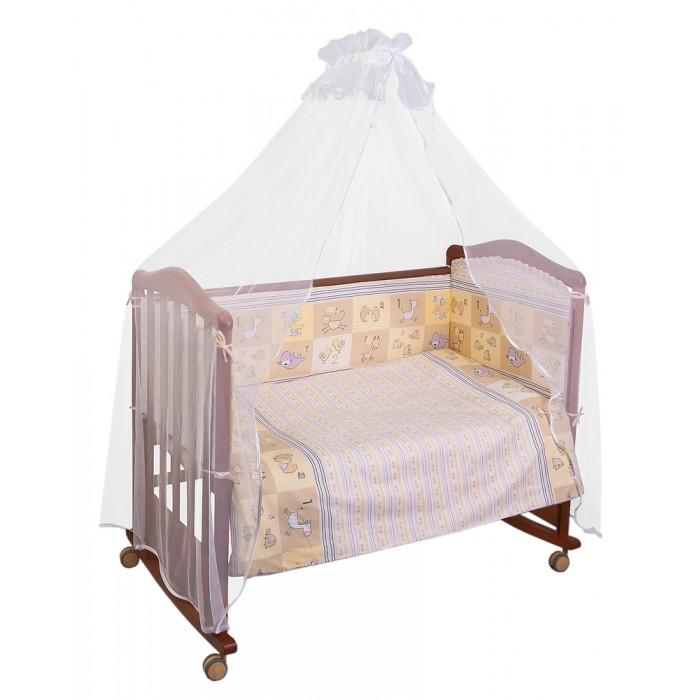 Бампер для кроватки Сонный гномик Считалочка
