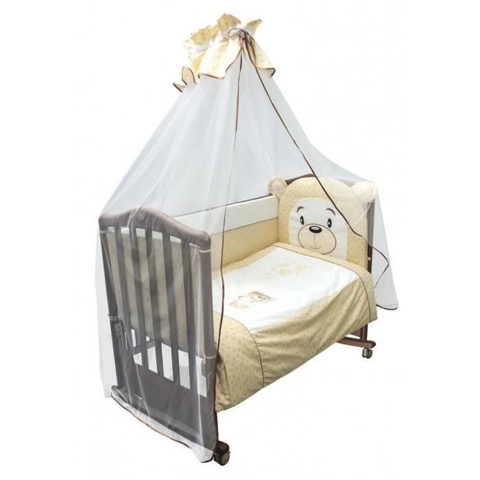 Купить Комплекты в кроватку, Комплект в кроватку Сонный гномик Умка (7 предметов)
