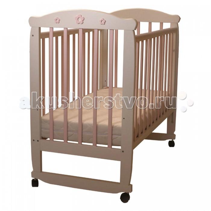 Детская мебель , Детские кроватки Соня 02 Цветочек арт: 458476 -  Детские кроватки