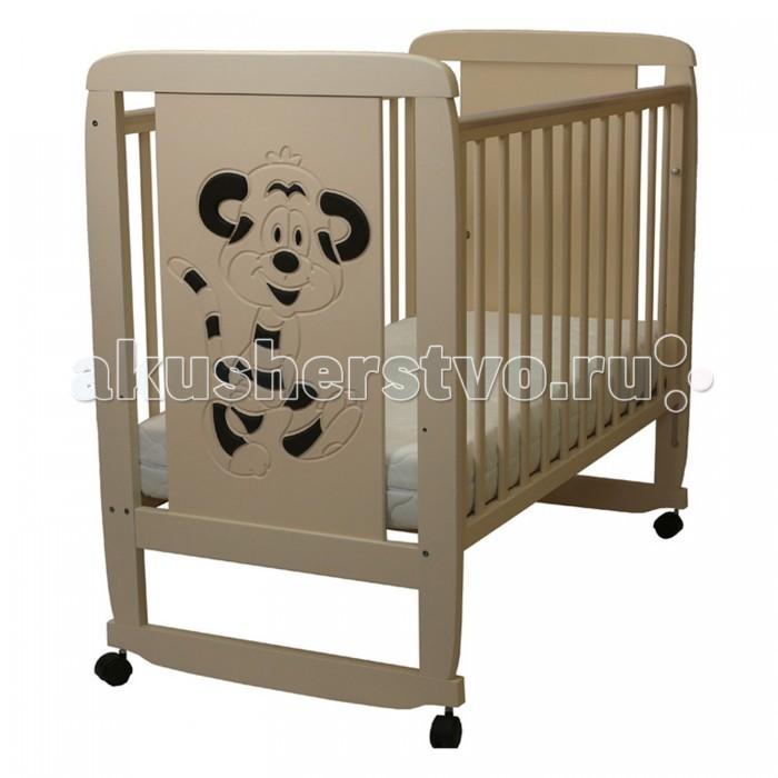 Детская мебель , Детские кроватки Соня 02 Тигренок 3D арт: 458486 -  Детские кроватки