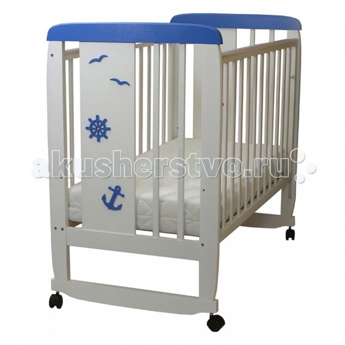 Детская мебель , Детские кроватки Соня 02 Юнга арт: 458496 -  Детские кроватки