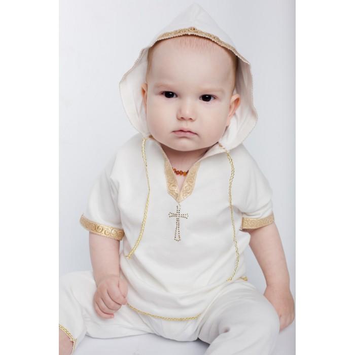 крестильная одежда Крестильная одежда Soon-mom Крестильный набор для мальчика (рубашка и штаны) KN001