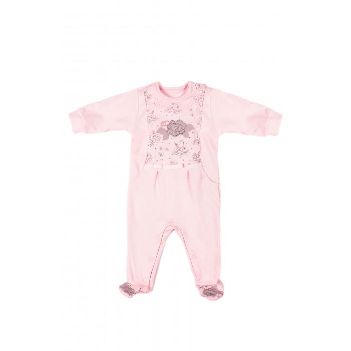 Детская одежда , Комбинезоны и полукомбинезоны СовёнокЯ Комбинезон Роза арт: 537426 -  Комбинезоны и полукомбинезоны