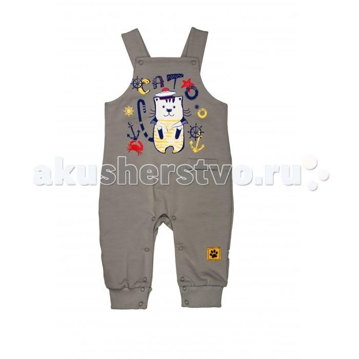 Детская одежда , Комбинезоны и полукомбинезоны СовёнокЯ Полукомбинезон Два кота арт: 534851 -  Комбинезоны и полукомбинезоны
