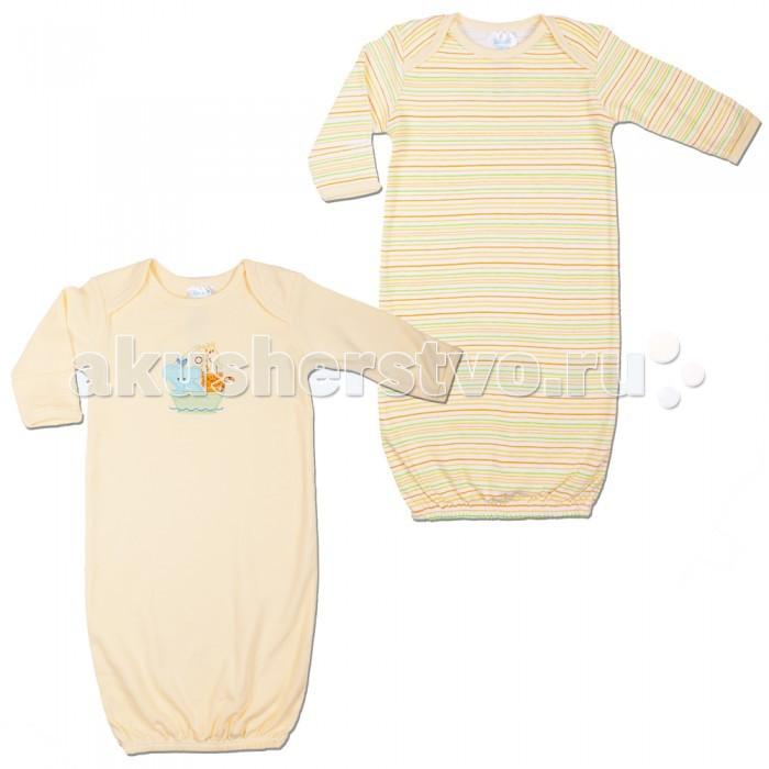 Детская одежда , Пижамы и ночные сорочки Spasilk Ночные сорочки длинный рукав GO 2 шт. арт: 20813 -  Пижамы и ночные сорочки