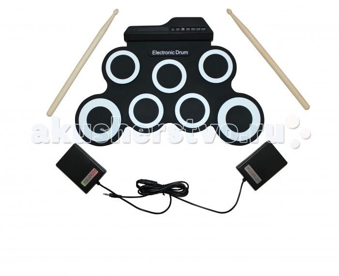 Музыкальные игрушки SpeedRoll Барабаны гибкие G3002, Музыкальные игрушки - артикул:396524