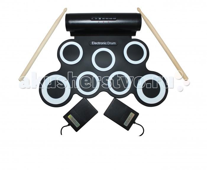 Музыкальные игрушки SpeedRoll Барабаны гибкие G3006, Музыкальные игрушки - артикул:396534