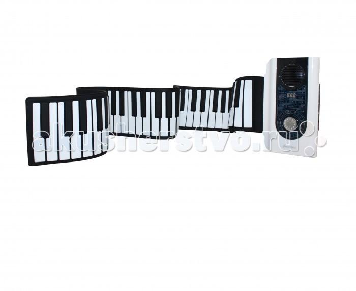 Музыкальная игрушка SpeedRoll Гибкое Пианино S2088Гибкое Пианино S2088SpeedRoll Гибкое Пианино S2088 для детей от 3-х лет.  Особенности: 88 стандартных клавиш Стандартный звук 400 Гц и современный вид 3-D Клавиатура (Черные клавиши выше белых) 21 демо песен, 140 мелодий, 128 ритмов, Аккорды одним нажатием, Синхронные аккорды 16 ступеней управления звуком, выход разъем MIDI, функция программирования и обучения Можно использовать с 4 AA батареи и сетевым адаптером (в комплект не входит) Наличие педальных клавиш Материал Не токсичный, безвредный для окружающей среды силикон, водонепроницаемый на все 100% Вход Соединения через компьютер В комплекте Пианино, Инструкция, Чехол для пиано, Педаль Размеры: Клавиатура: 1250 x 133 x 9 мм Панель управления: 150 x 100 x 30 мм<br>