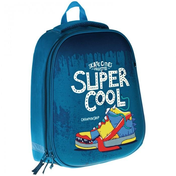 Купить Школьные рюкзаки, Спейс Ранец 2 отделения 1 карман ArtSpace School Friend Super Cool 39x30x18 см