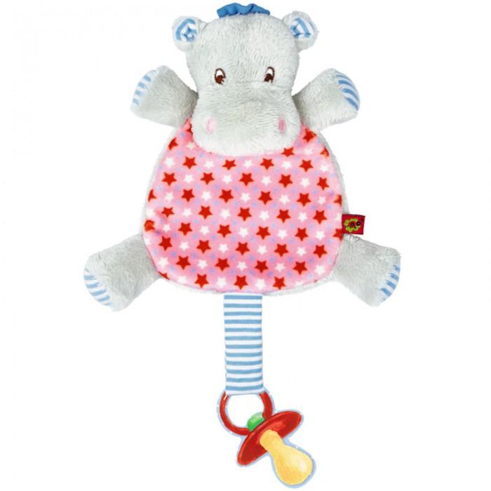 Аксессуары для пустышек Spiegelburg Держатель для соски бегемотик Baby Gluck teddykompaniet держатель для соски салфетка тигр динглисар