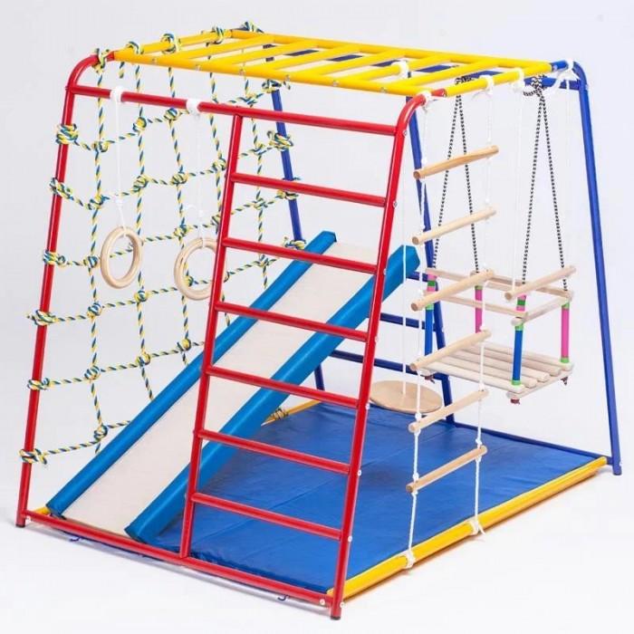 Купить Спортивные комплексы, SportsWill Спортивный комплекс Baby Hit Maxi с мягкими бортиками