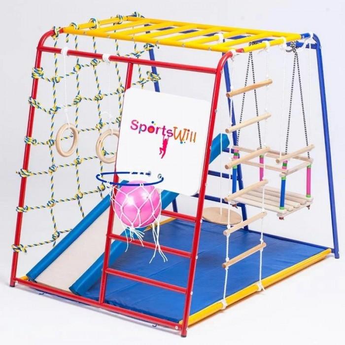 Купить Спортивные комплексы, SportsWill Спортивный комплекс Baby Hit Vip с мягкими бортиками