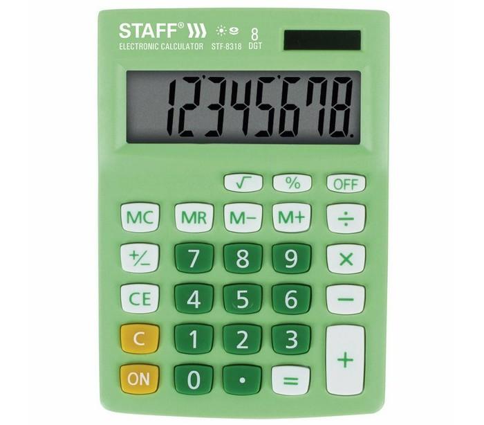 Канцелярия Staff Калькулятор настольный STF-8318