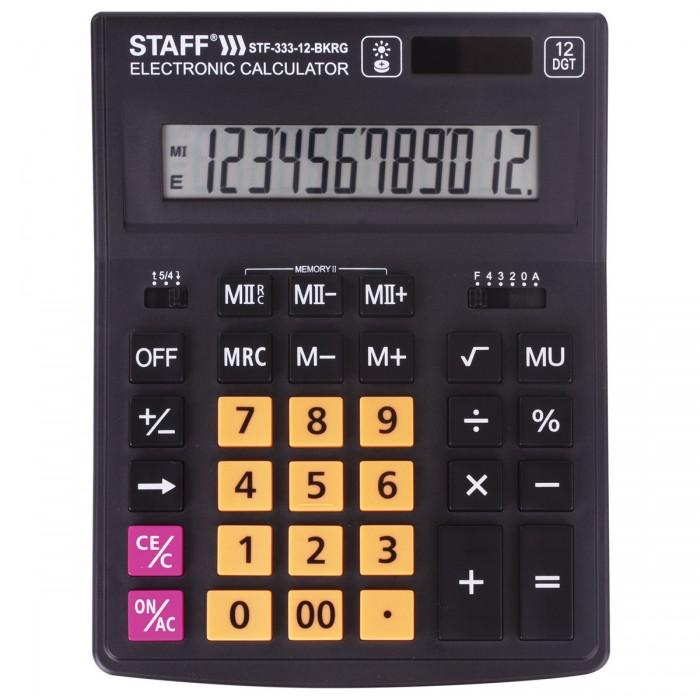 Купить Канцелярия, Staff Калькулятор Plus настольный STF-333 12 разрядов