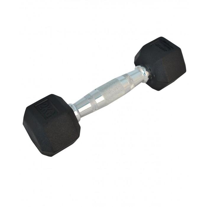 Спортивный инвентарь Starfit Гантель обрезиненная DB-301 2 кг спортивный инвентарь starfit гантель виниловая db 101 2 кг