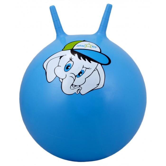 Мячи Starfit Мяч-попрыгун с рожками Слоненок GB-401 45 см мячи starfit мяч массажный gb 601 8 см