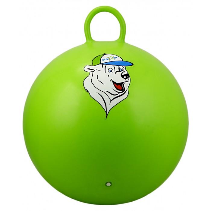 Мячи Starfit Мяч-попрыгун с ручкой Медвежонок GB-401 65 см мячи starfit мяч массажный gb 601 8 см