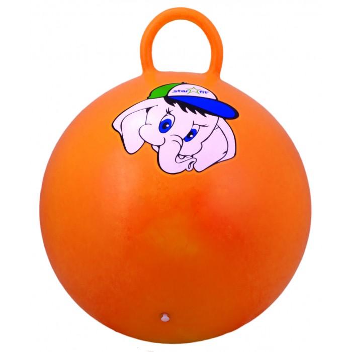 Мячи Starfit Мяч-попрыгун с ручкой Слоненок GB-401 45 см мячи starfit мяч массажный gb 601 8 см