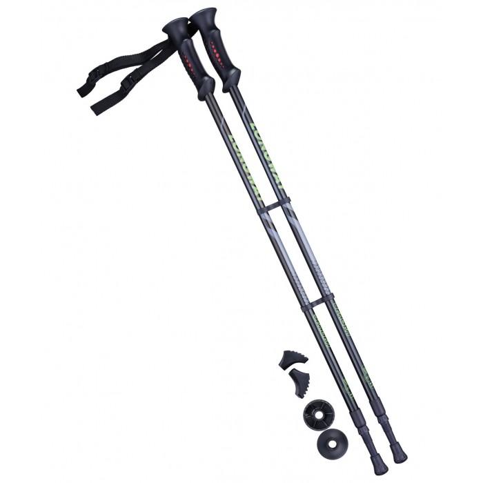 Спортивный инвентарь Starfit Палки для скандинавской ходьбы Berge Longway 77-130 см спортивный инвентарь starfit гантель виниловая db 103 2 кг