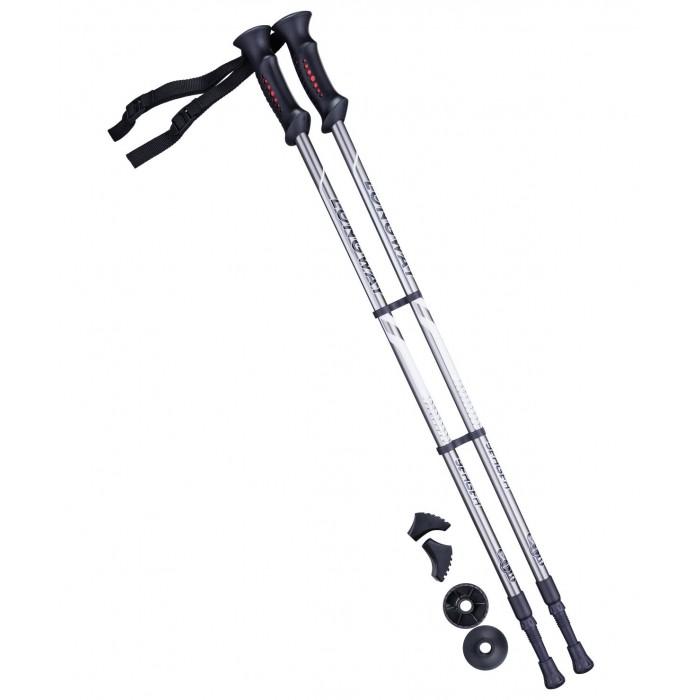 Спортивный инвентарь Starfit Палки для скандинавской ходьбы Berge Longway 77-130 см
